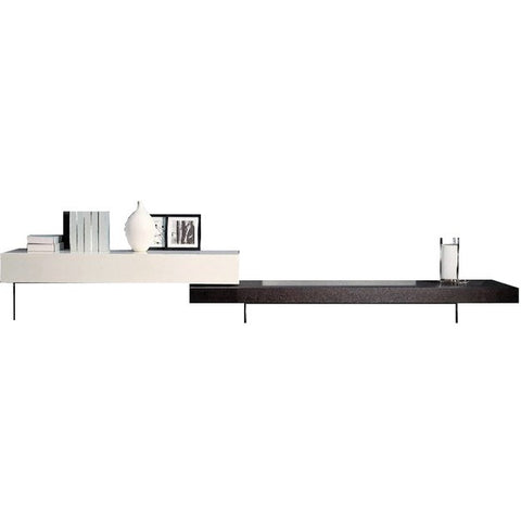 Linear Modular TV Console<br> Drawer + Flat Unit Combination