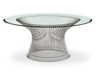 Platner Round Coffee Table <br> Modern Classic Collection