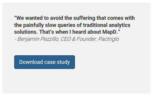 MapD's Case Study on Pactriglo