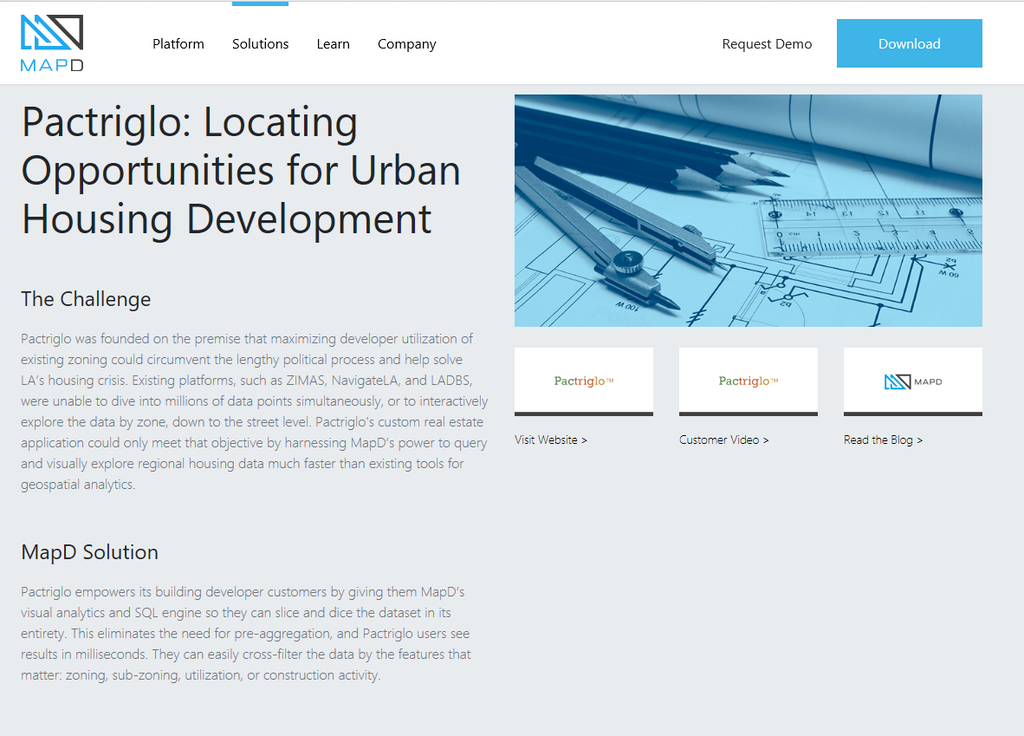 Pactriglo: Locating Opportunities for Urban Housing Development