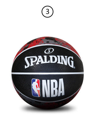 Spalding NBA Mini Ball Splat Black/Red Sz3