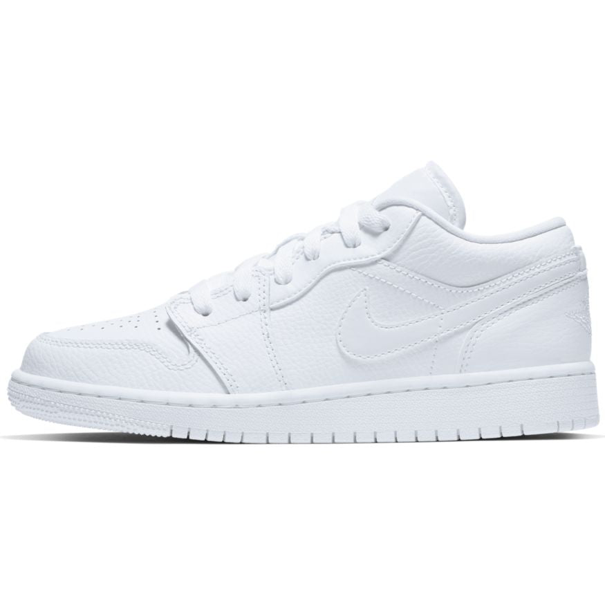 Air Jordan 1 Low White (GS) - 553560-126