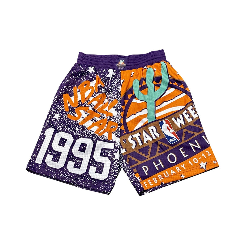 Hardwood Classic All Star Mesh Short (Purple-95)