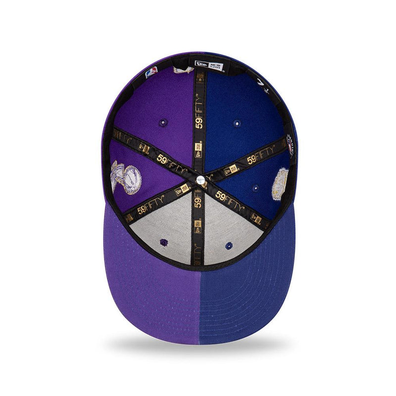 New Era 5950 2020 Co Champs Lakers x Dodgers (Purple/Blue)