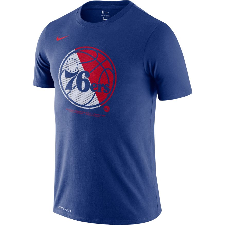 Nike NBA Logo Tee (76ers) - AT0439-495