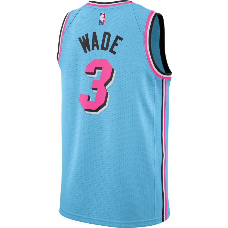 Dwyane Wade City Edition Swingman Jersey (Heat)
