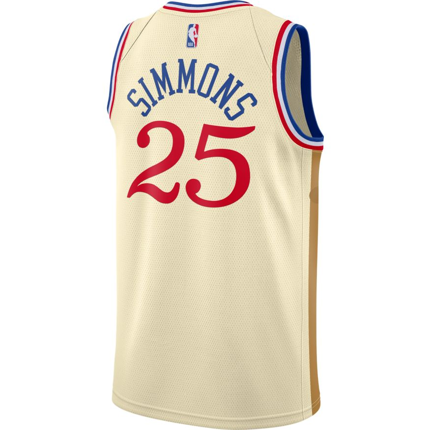 Ben Simmons City Edition Jersey (76ers)