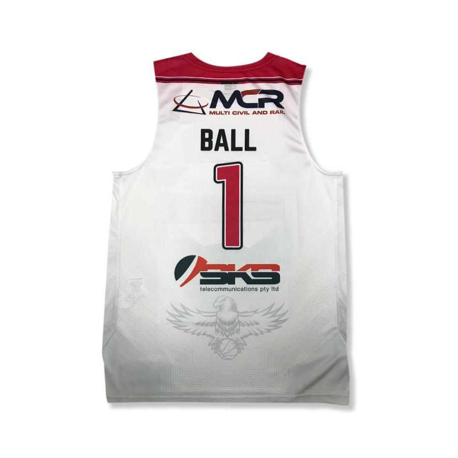 LaMelo Ball SLAM Illawarra Hawks Away Jersey (White)