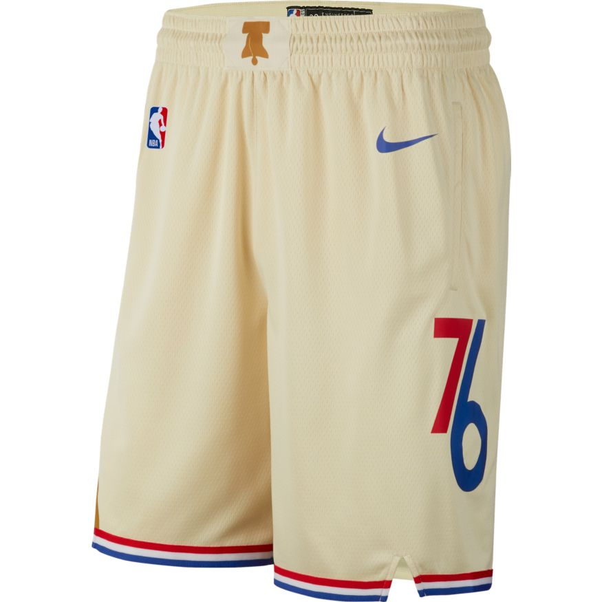 76ers City Edition Swingman Shorts