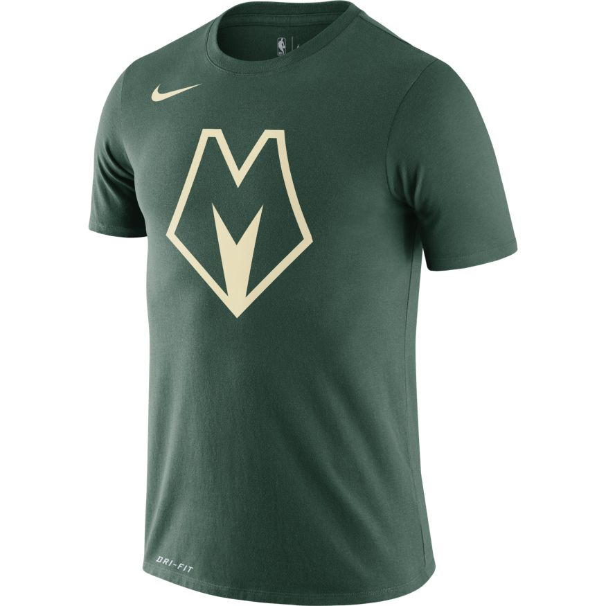 Milwaukee Bucks City Edition Logo Tee - BV8916-323