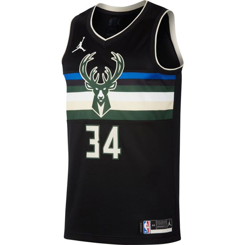 Giannis Antetokounmpo Statement Edition Swingman Jersey (Bucks)