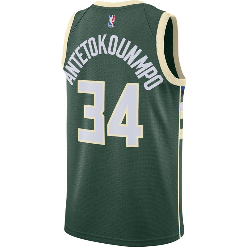 Giannis Antetokounmpo Icon Edition Swingman Jersey 20/21 (Bucks) CW3672-329