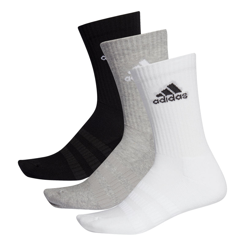 Adidas Cushioned Crew Socks 3 Pack (Multi) DZ9355
