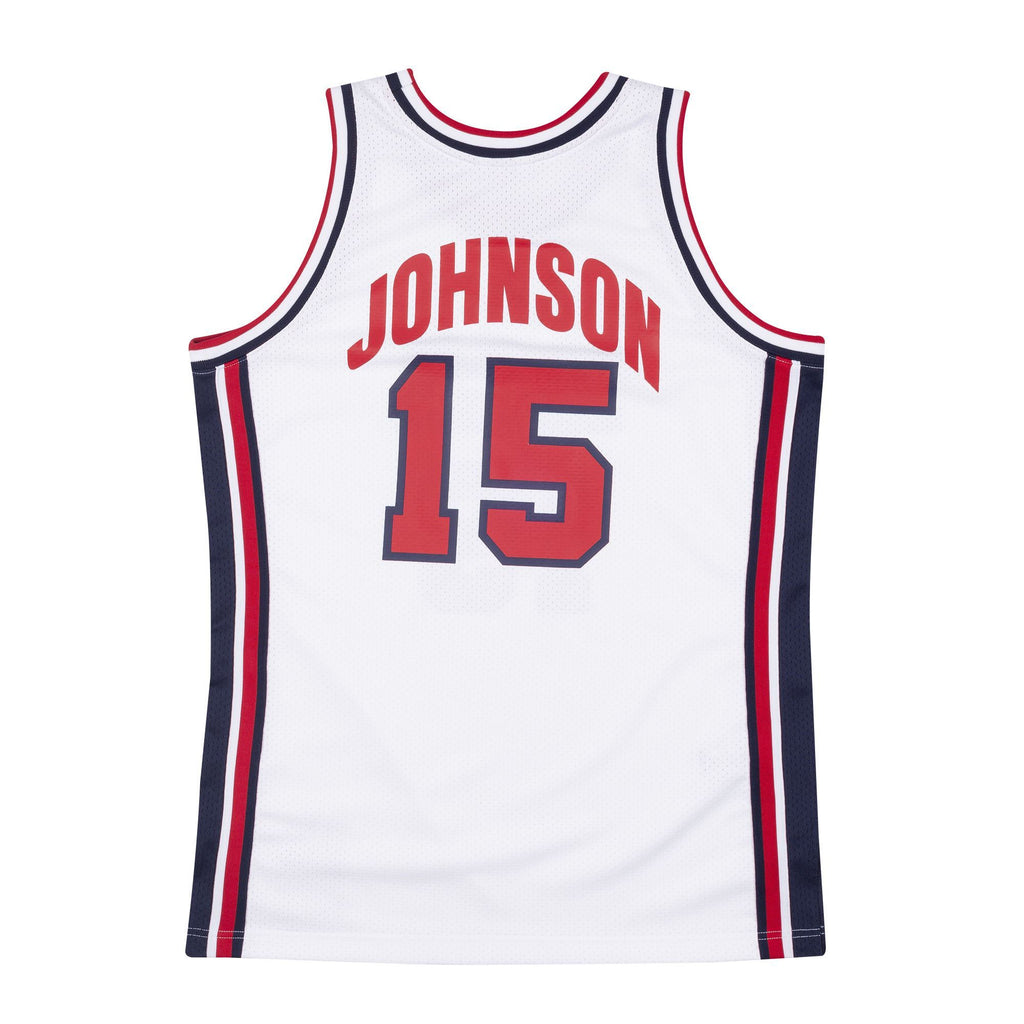 Team USA Authentic Jersey Johnson (white)