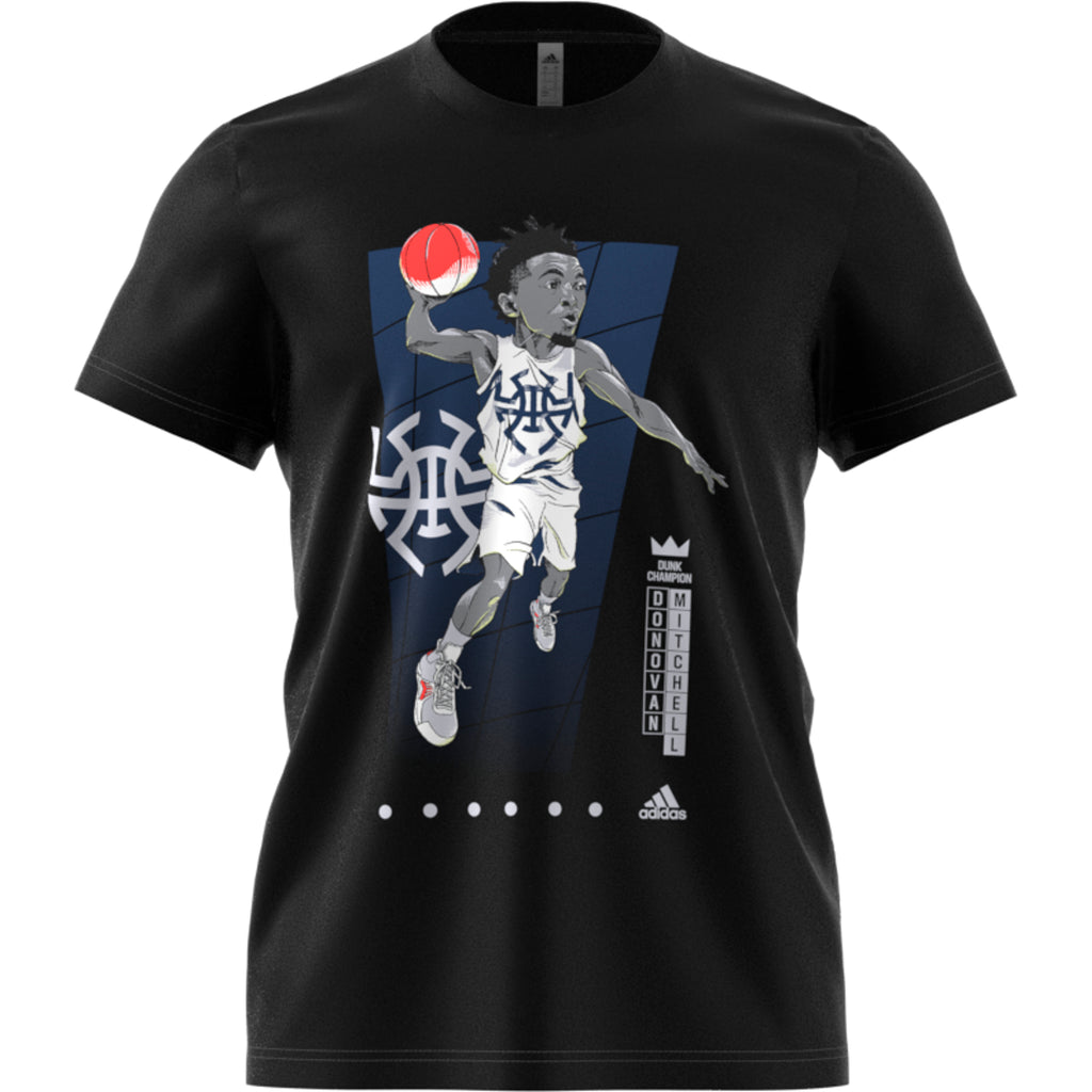 Adidas Geek Up Tee Donovan Mitchell (Black) FM4761