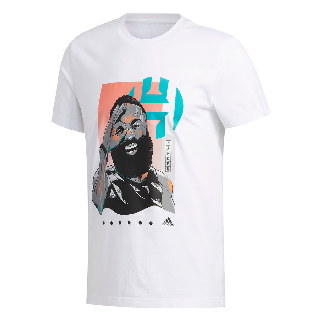 Adidas Geek Up Tee James Harden (White) - FM4776