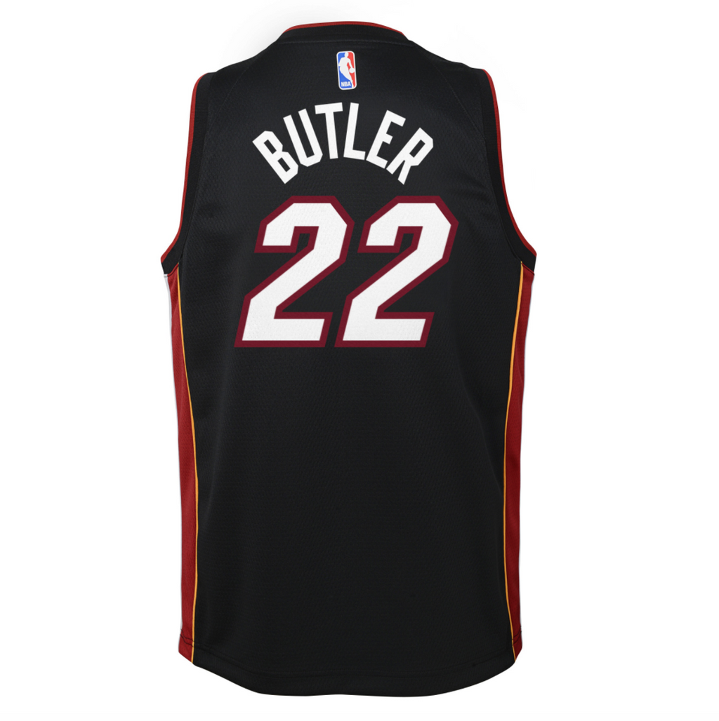 Youth Jimmy Butler Swingman Icon Jersey (Heat)