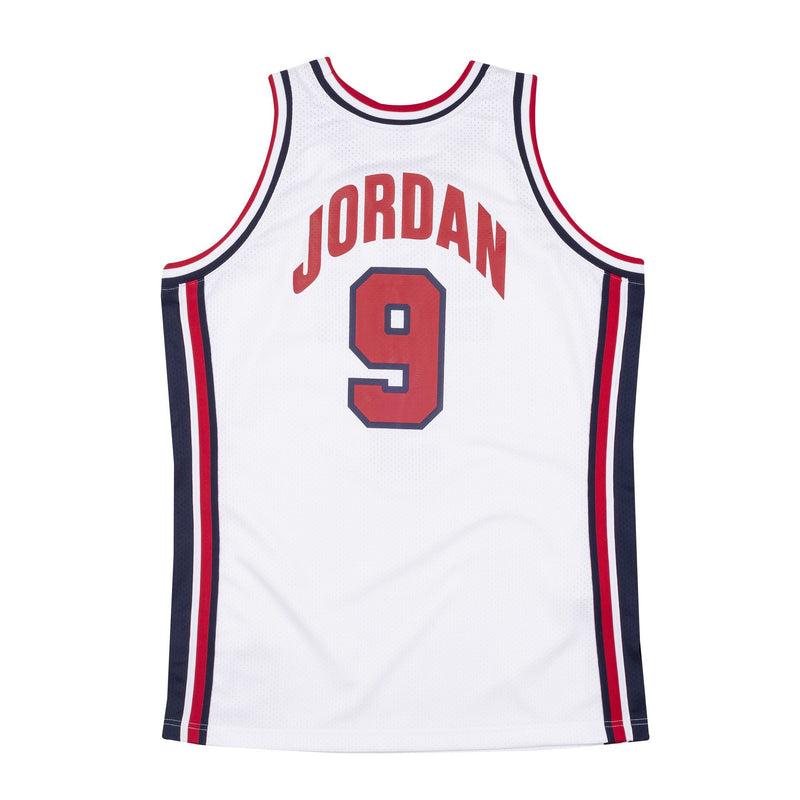 Team USA Authentic Jersey Jordan (white)