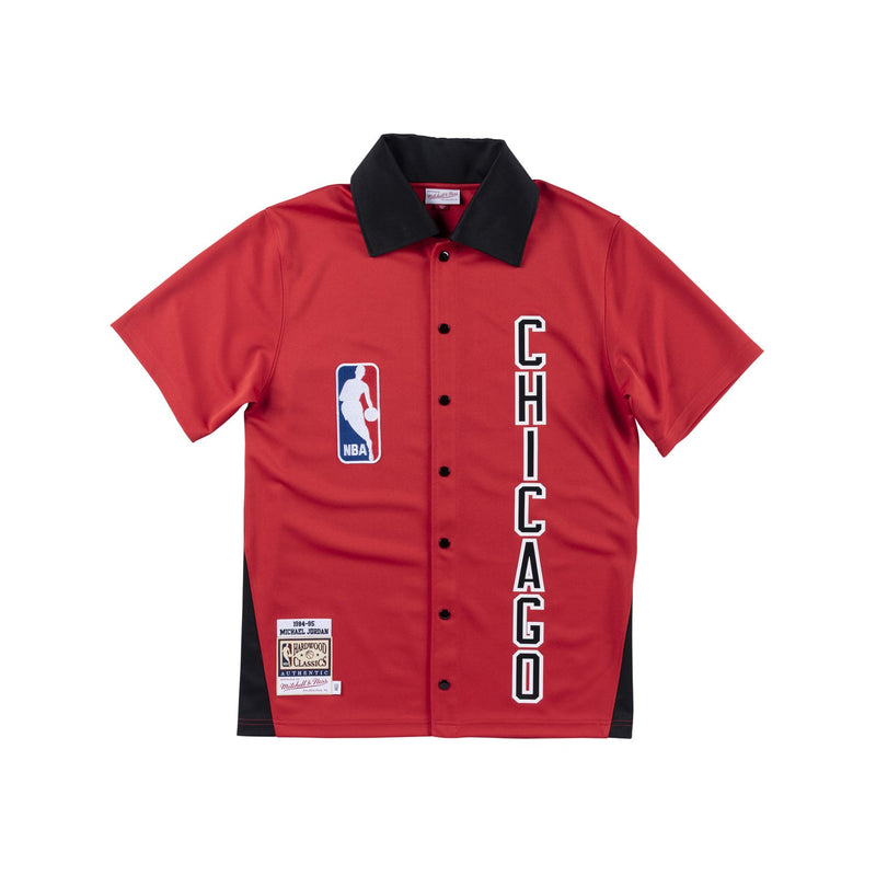 Michael Jordan 1984-1985 Chicago Bulls Authentic Warm Up Shirt