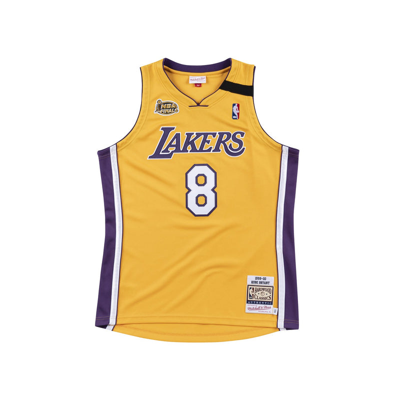 Los Angeles Laker 1999/00 Authentic Jersey Kobe Yellow(Finals Patch)