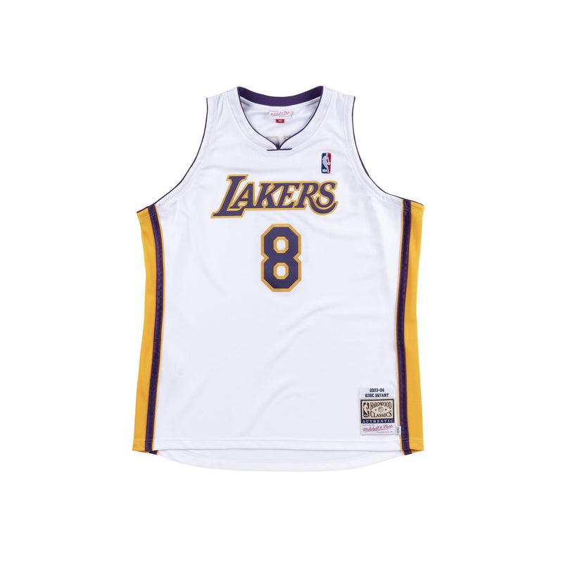 Los Angeles Laker 03/04 Authentic Jersey Kobe White (81 Point Game)