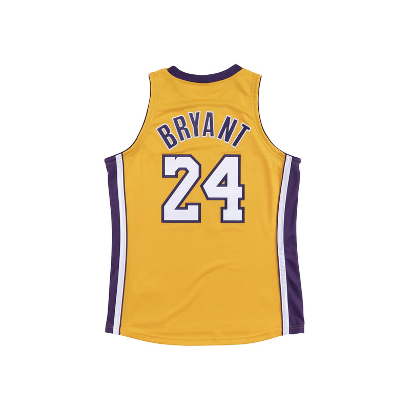 Los Angeles Laker 2008/09 Authentic Jersey Kobe Yellow
