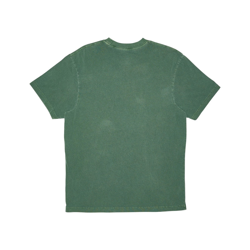 M&N Vintage Keyline Logo Tee - Bucks (Faded Bottle Green)