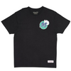M&N Retro Repeat SS Tee - Mavericks (Black)