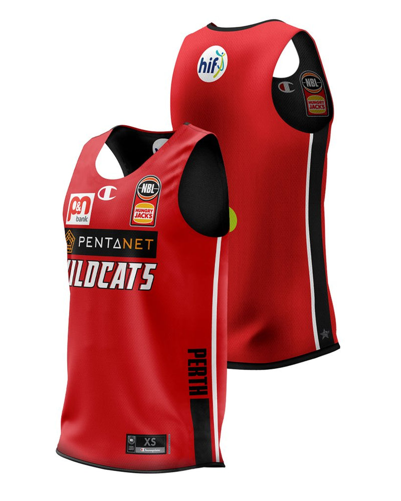 Champion Perth Wildcats 20/21 Reversible Training Jersey