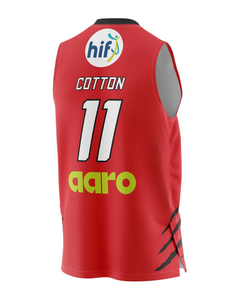 Champion Perth Wildcats 20/21 Authentic Home Jersey - Bryce Cotton