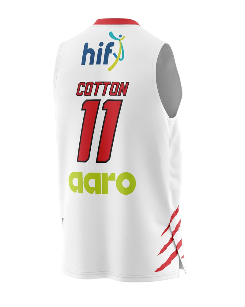 Champion Perth Wildcats 20/21 Authentic Away Jersey - Bryce Cotton