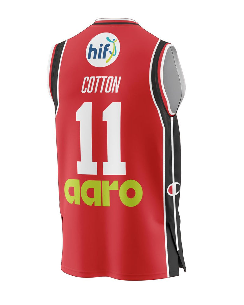 Champion Perth Wildcats 20/21 Authentic Heritage Jersey - Bryce Cotton