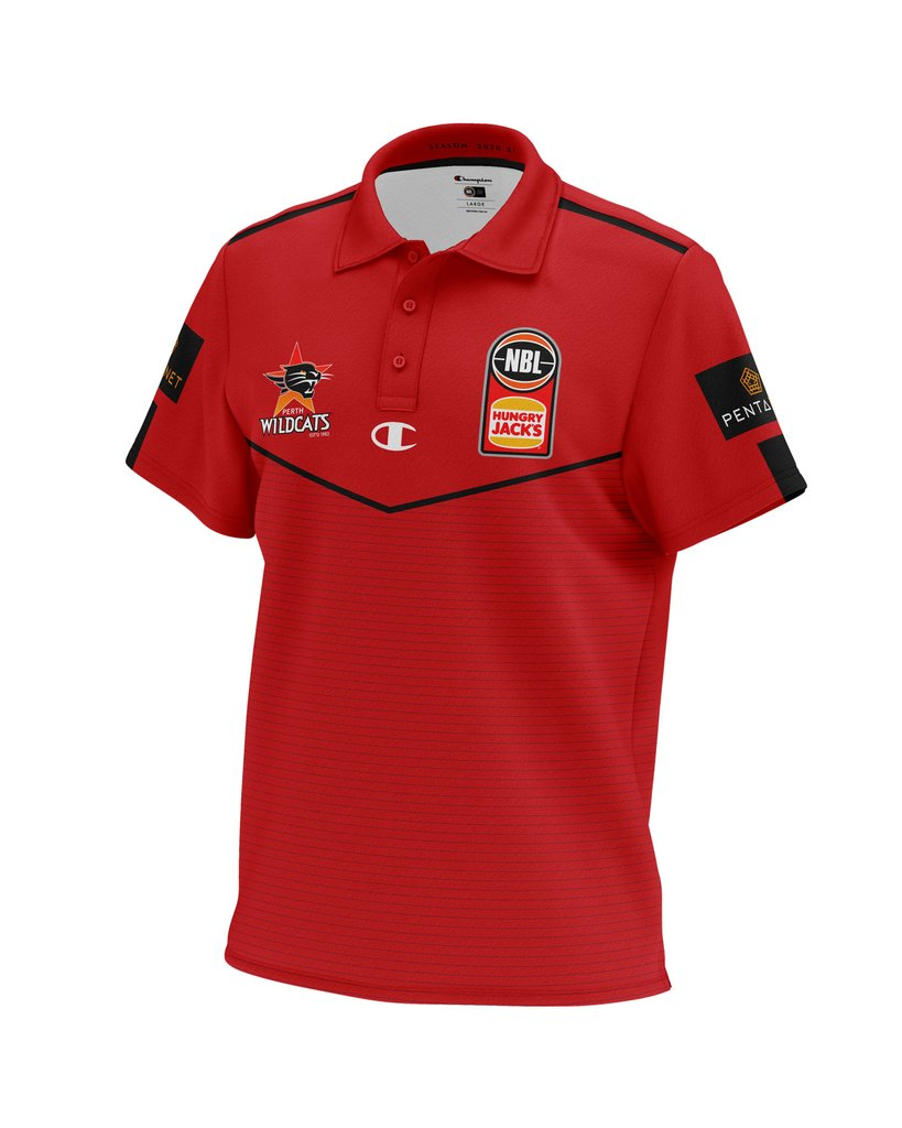 Champion Perth Wildcats 20/21 Mens Sublimated Polo