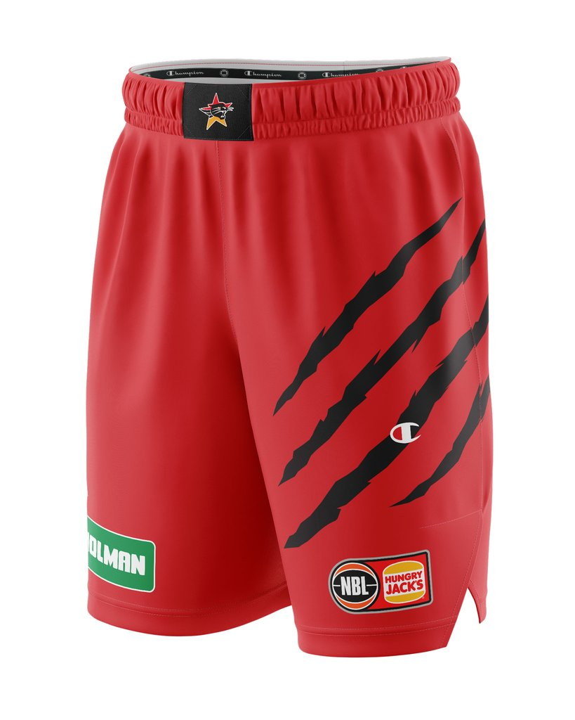 Champion Perth Wildcats 20/21 Authentic Home Shorts