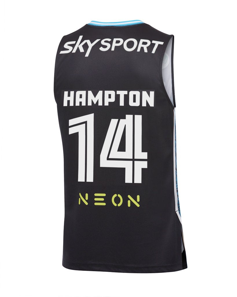 RJ Hampton New Zealand Breakers Home Jersey (Black)
