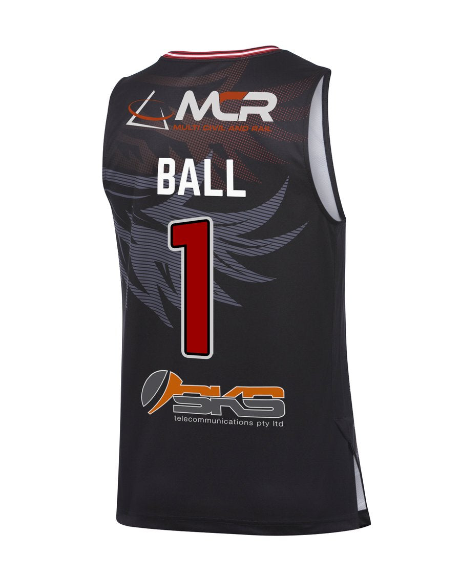 LaMelo Ball SLAM Illawarra Hawks Home Jersey (Black)