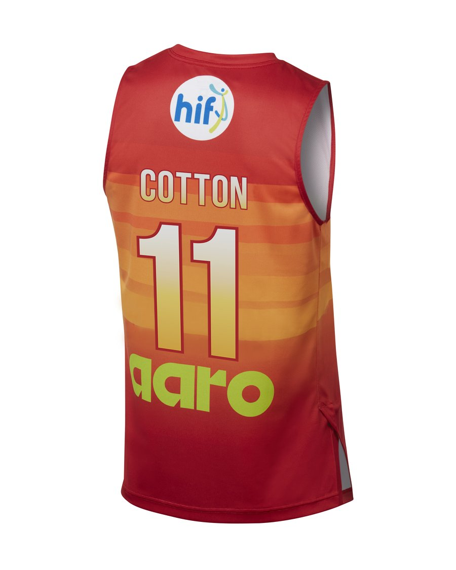 Perth Wildcats 19/20 City Jersey - Cotton