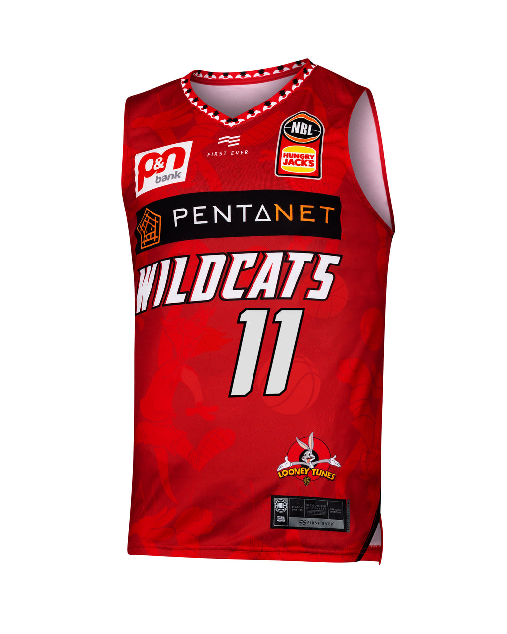 Perth Wildcats 19/20 Looney Tunes Jersey - Bryce Cotton