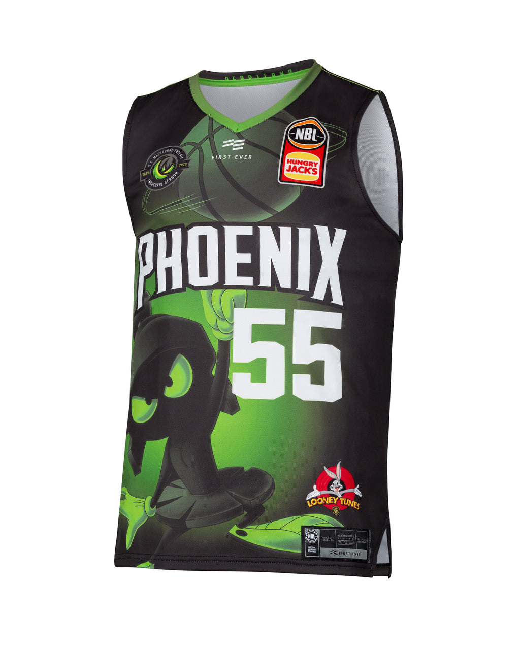 South East Melbourne Phoenix 19/20 Looney Tunes Jersey - Mitch Creek