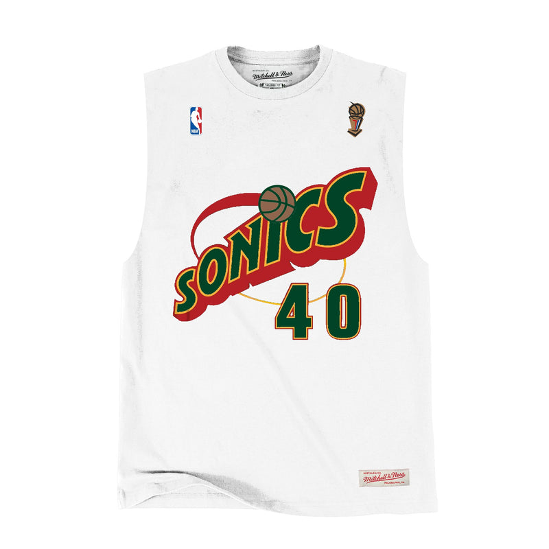 Seattle SuperSonics Muscle Tee (Shawn Kemp)