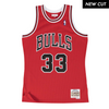 Scottie Pippen Hardwood Classic Jersey (97-98 Bulls Red) New Cut