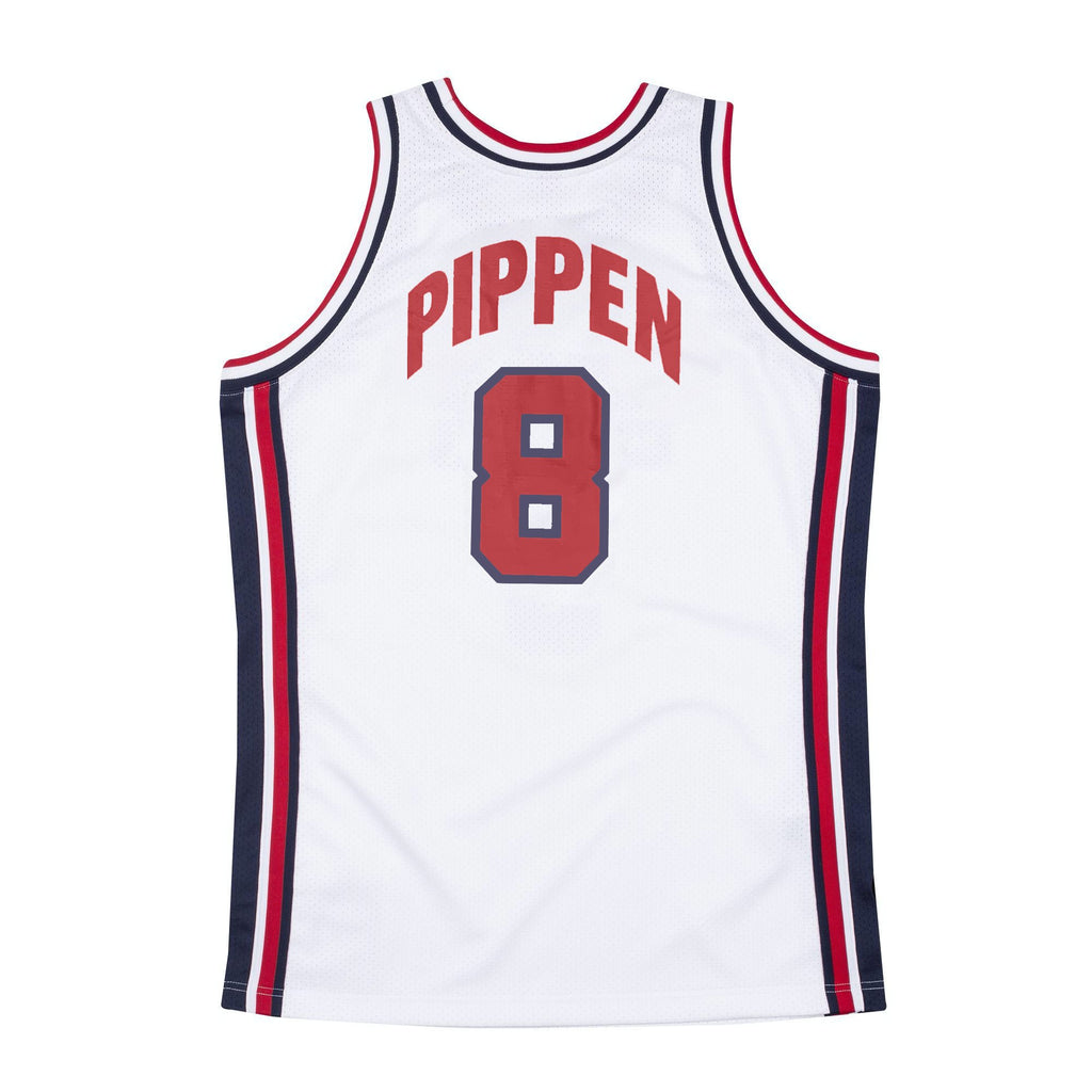 Team USA Authentic Jersey Pippen (white)