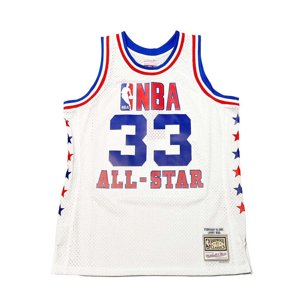 Larry Bird Hardwood Classic All Star Jersey White (East-85)