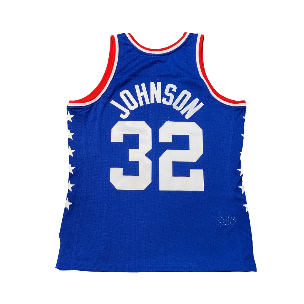 Magic Johnson Hardwood Classic All Star Jersey Royal (West-85)