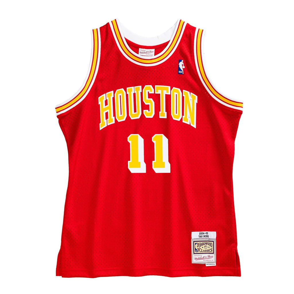 Houston Rockets Yao Ming Hardwood Classic Jersey (04/05) New Cut