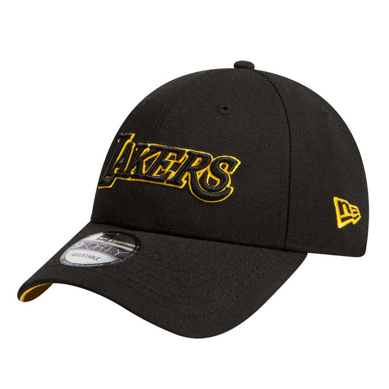 NE 9Forty SnapBack BLK/TEAM (Los Angeles Lakers)