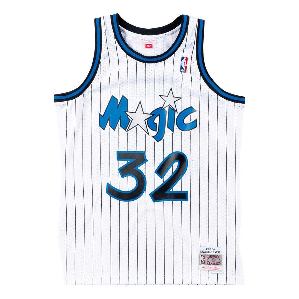 Shaquille O'Neal Hardwood Classic Jersey (1993/94 Magic White) New Cut