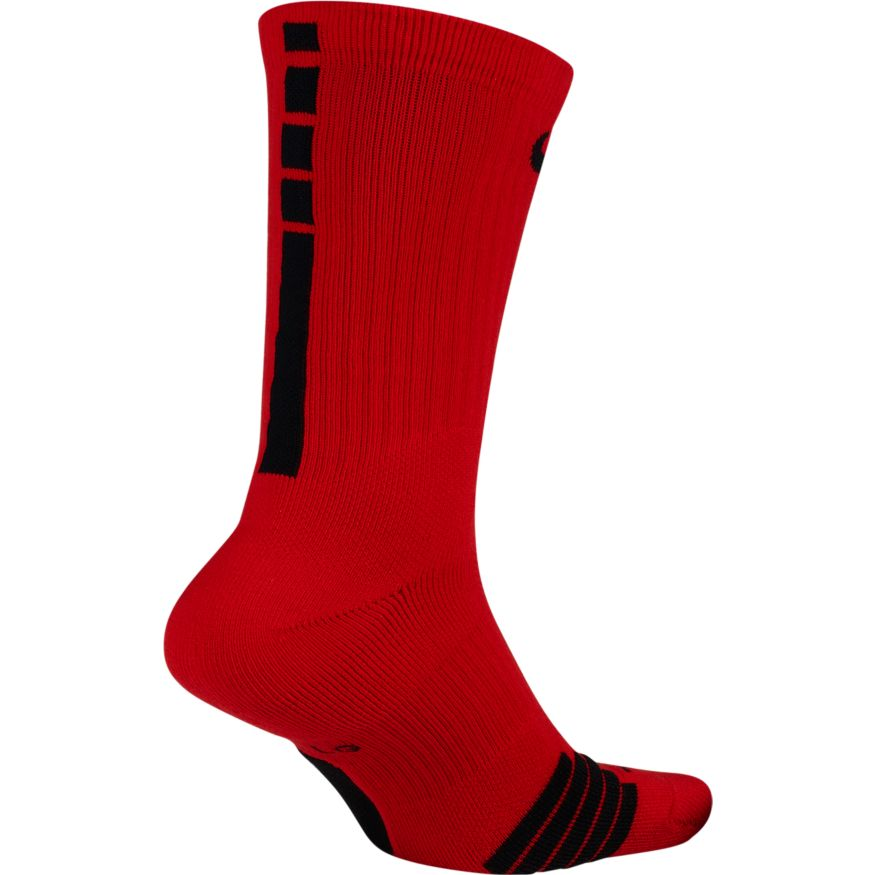Nike NBA Elite Crew Sock (Uni Red/Black)