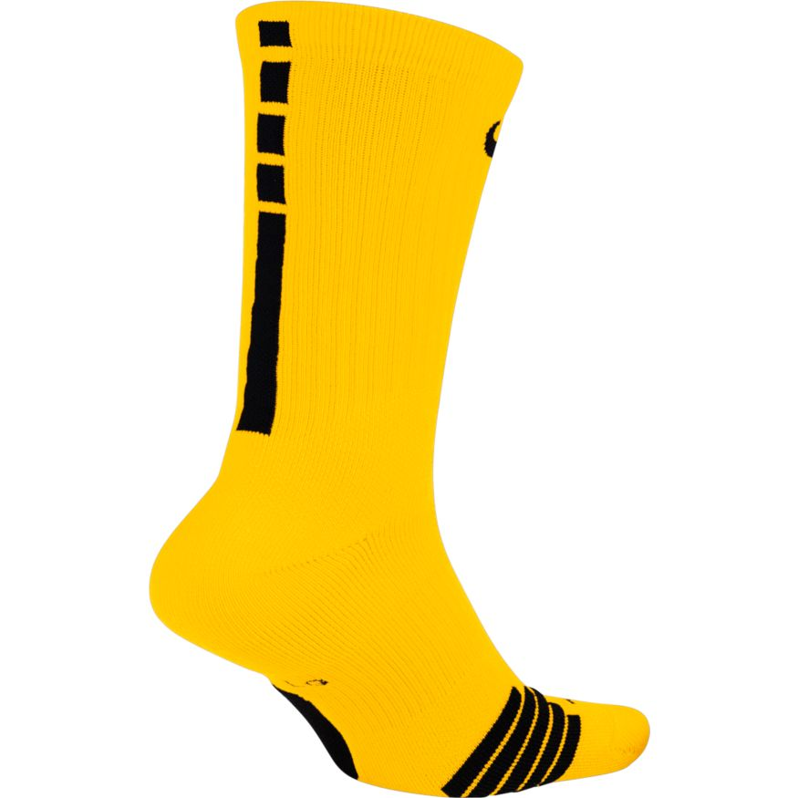 Nike NBA Elite Crew Sock (Amarillo/Black)
