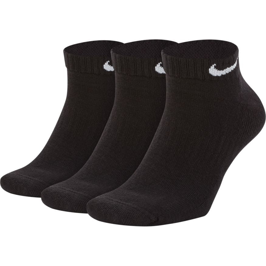 Nike Everyday Cushioned Ankle 3 Pk - SX7670-010